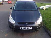 2008 Ford S-MAX 2.0 LX - Fsh - New MOT- 7 Seater - 107000 Miles