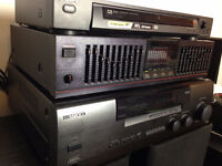 Beautiful System Stereo Kenwood, Sony, Nikko with Celestion  Spe