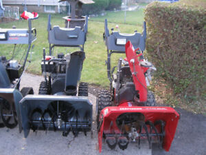 18 SNOWBLOWERS 4 SALE ALL TUNED CHECKED READY FOR SNOW