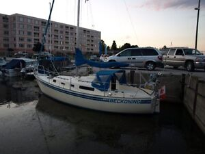 Aloha 28, recently surveyed at $19K, selling for half price
