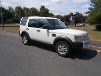 Land Rover Discovery 2.7 TDV6 5 SEAT (white) 2007