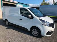 Renault Trafic 1.6dCi E6 SL27 120 Business+ 2017 17 reg only covered 37943 miles