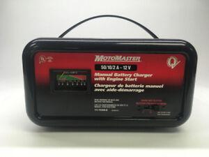 Chargeur de batterie 50/10/2 A - 12V Motomaster
