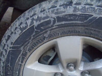245/70/17 ice tire 10 ply Good Years