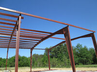 Steel Building Sales and Erecting Services in Kitchener