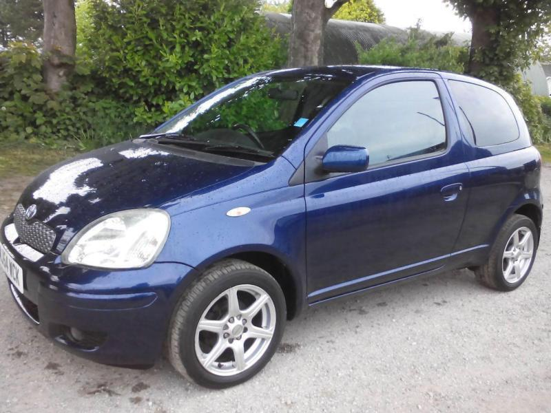 2004 toyota yaris 1 0 vvt i blue 3dr 3 door hatchback in thornton west yorkshire gumtree. Black Bedroom Furniture Sets. Home Design Ideas