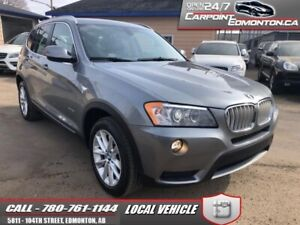 2013 BMW X3 35i.....MINT....6 CLY...LOADED !!!  - Local