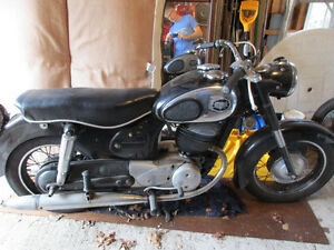 Antique Puch 250 motorcycle Parts