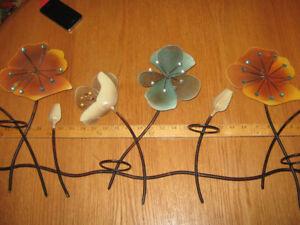 floral candle or light holder