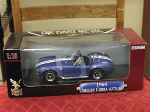 Die cast Metal 1:18 Scale, 1964 Shelby Cobra, Deluxe Edition