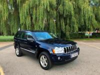 2007 Jeep Grand Cherokee 3.0CRD ( 215bhp ) 4X4 Auto Limited 5 Door Estate Blue