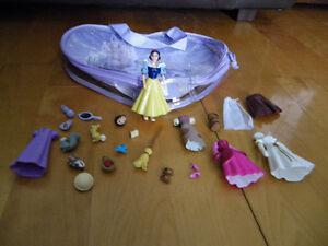 Polly Pocket princesse Blanche-Neige et accessoires
