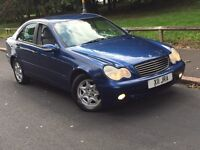MERCEDES C180 2003 PRIVATE PLATE INCLUDED IN SALE