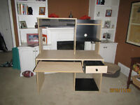VERY FUNCTIONAL DESK READY FOR USE, MUST GO!!!