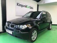 BMW X3 2.0d SE (black) 2006