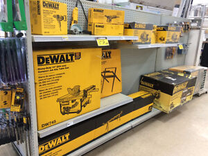15% off all DeWalt Tools and Accessories LumberMart Dartmouth