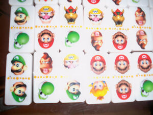 Nintendo 28 Super Sized Dominoes Sababa Toys 2004 Super Mario Se Windsor Region Ontario image 8