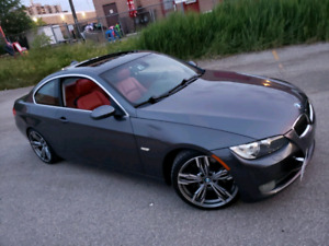 BMW 335i RED LEATHER 6SPEED