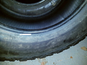 Two Winter tires LT265/70/17
