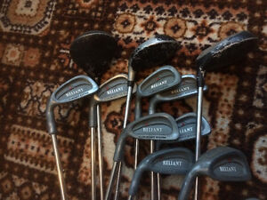Golf clubs LH Campbell Reliant