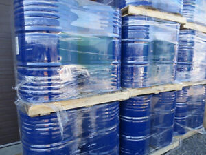 55 gallon steel drums, food-grade, mint condition- 100+ units Cornwall Ontario image 1