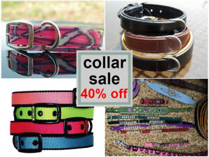 40% off Dog Collar and Lead Sale