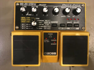 BOSS  OD-20 Overdrive/Distortion library!