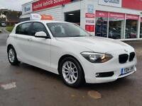 BMW 1 SERIES 116D EFFICIENTDYNAMICS, White, Manual, Diesel, 2014