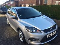 Ford Focus 1.6 Zetec S ****low miles***** (not Audi A3, not Leon , Golf, polo, Astra)