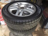 Ford Focus Alloy Wheels and Tyres