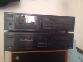 Yamaha cassette players
