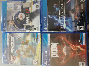 Video games (Brand New In Packages)