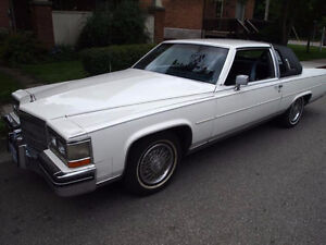 1985 Cadillac Fleetwood brougham d'elegance Coupe