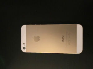 iPhone 5s white/gold 16gb