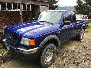 2003 Ford Ranger Xlt Pickup Truck