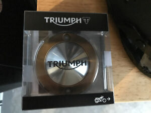 Triumph Bonneville: Clutch Cover/Engine Inspection/Oil Cap