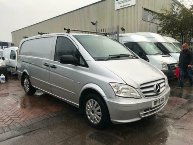2013 Mercedes-Benz Vito 113 CDI CREWVAN 5 SEAT SPARES OR REPAIR NEEDS TLC  NO VAT | in Bristol | Gumtree