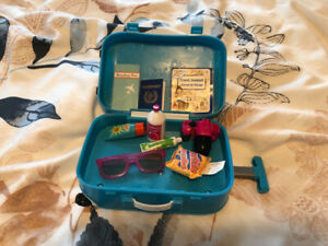"My Life 18"" doll suitcase"