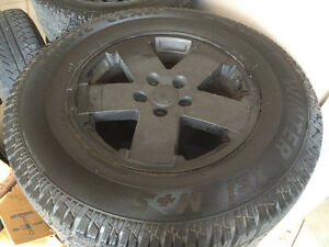 All sizes of tires for trucks and SUVs