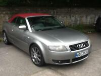 Audi A4 Cabriolet SPARES OR REPAIR ONLY, IMMACULATE ROOF ALL WORKING,SAT NAV