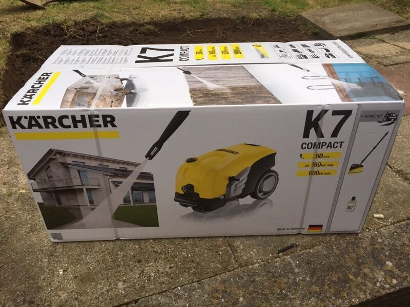 karcher k7 compact pressure washer in maidstone kent gumtree. Black Bedroom Furniture Sets. Home Design Ideas