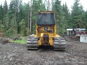 1998 Deere 650G LGP dozer, enclosed heated cab, winch