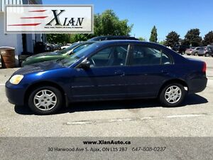 2001 Honda Civic, Great Condition (Safety + E-test included!!!!)
