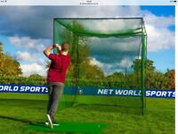 Professional golf net