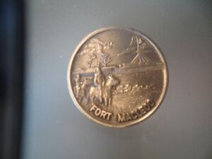 1973 FORT MACLEOD RCMP 100TH ANNIVERSARY SILVER COIN