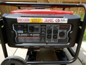 New generator with a max 4000 watts in Brampton $475.00