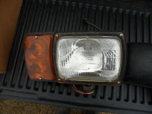 Pair of Snowplow Head lights - with Signals