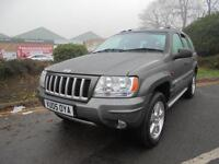 Jeep Grand Cherokee 2.7 CRD XS Station Wagon 4x4 5dr£4,000 NO FINANCE PROPOSAL R