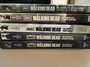 The walking dead Saison 1 a 5