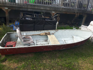 12' aluminium boat for sale